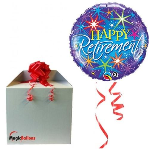 Happy Retirement - Folienballon