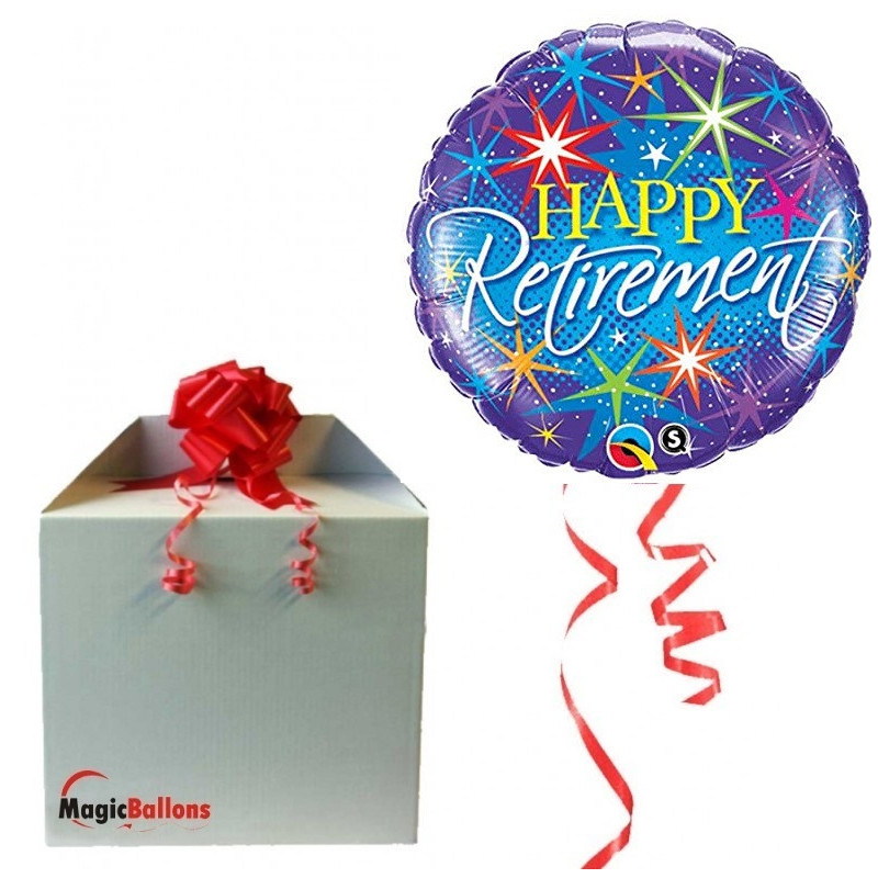 Happy Retirement - foil balloon