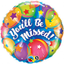 You'll Be Missed! - foil balloon