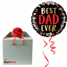 Best DAD Ever - foil balloon