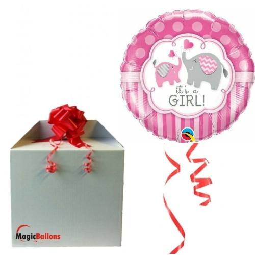 It's a Girl Elephants - folija balon