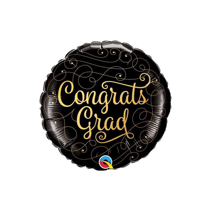 Congrats Grad - foil balloon