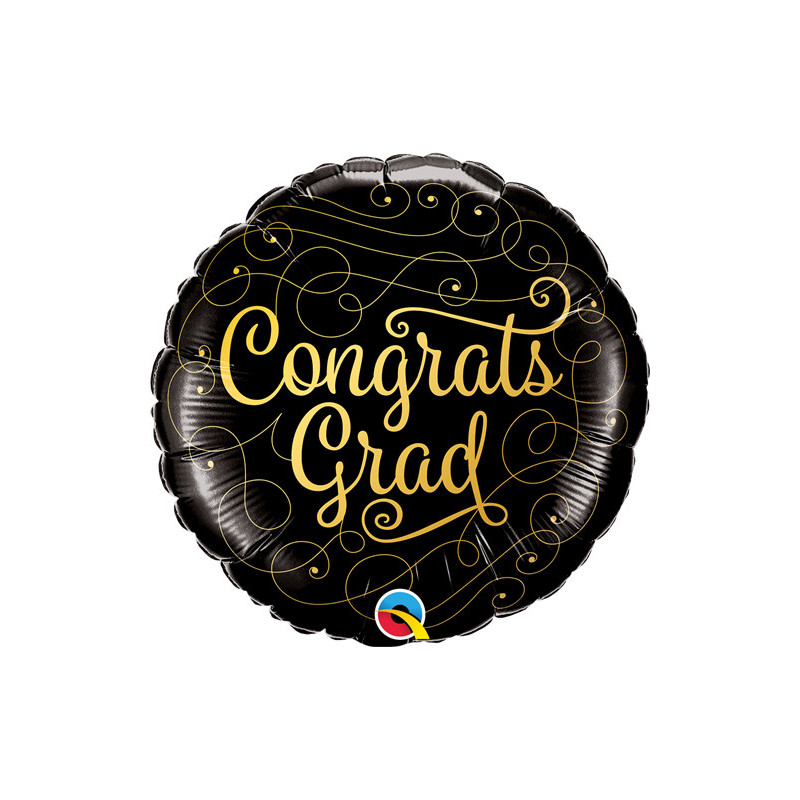 Congrats Grad - Folienballon