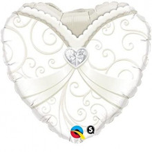 Wedding gown - foil balloon