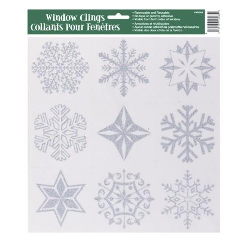 (a)Snežinke nalepke za steklo