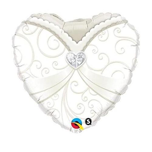 Wedding gown - folija balon