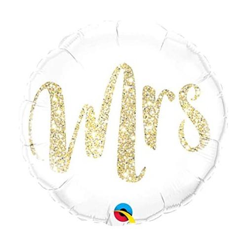 Mrs - foil balloon