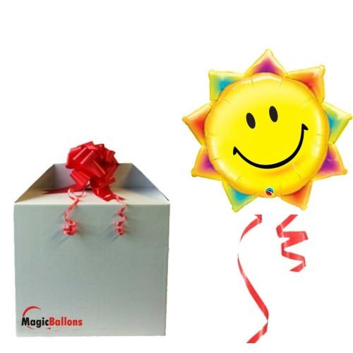 Nasmejani sonček - folija balon