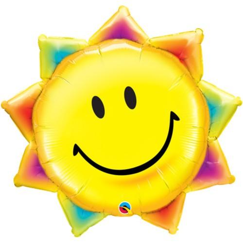Sunshine Smile Face - foil balloon