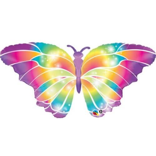 Luminous Butterfly - Folienballon