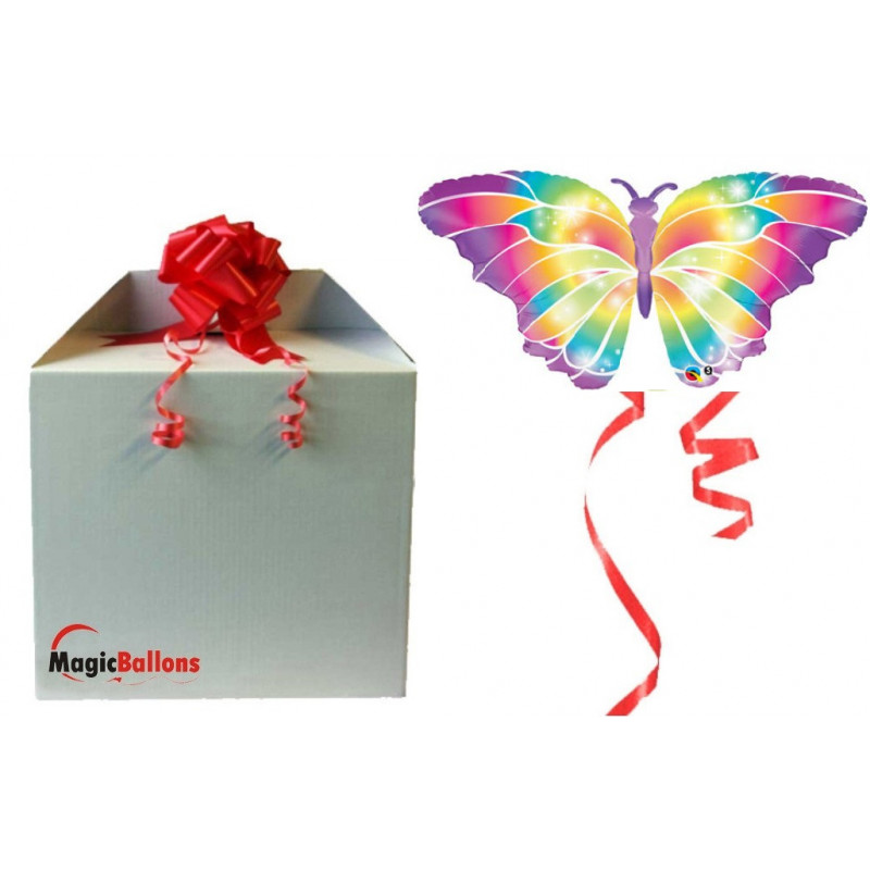 Svetleči metulj - folija balon