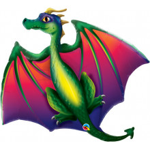 Mythical Dragon - foil balloon