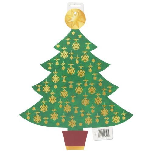 Božiček izrezan obesek