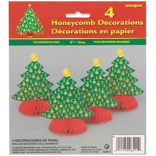 Božično drevo izrezan obesek