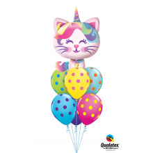 Mythical Caticorn - foil balloon