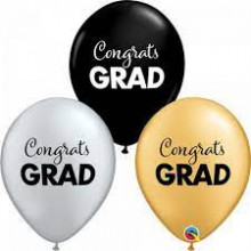 Congrats GRAD - bel lateks baloni