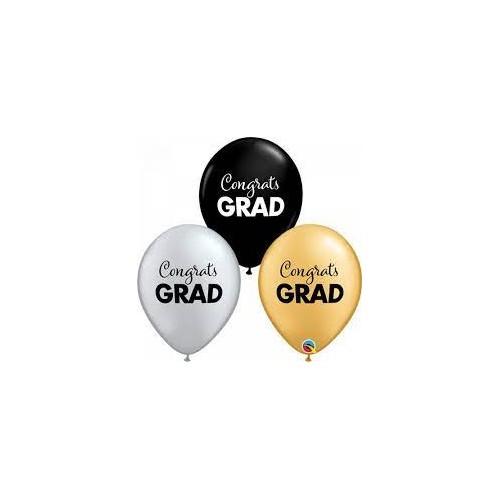 Čestitke GRAD - bel lateks baloni