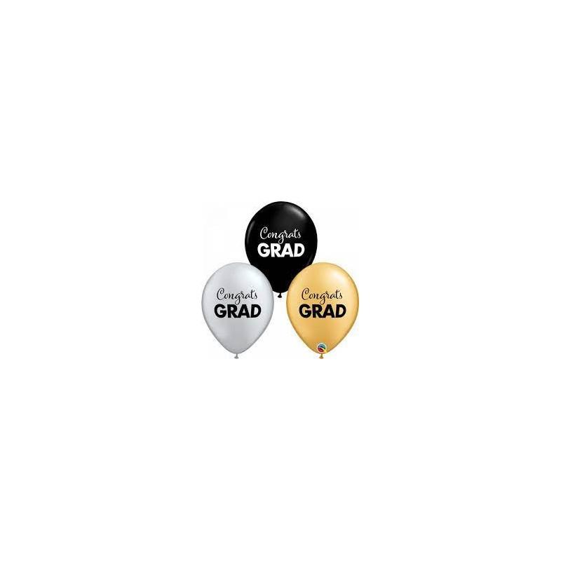 Congrats GRAD - latex balloons