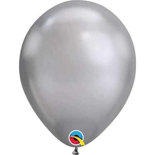"""Balloons 11"""" - Chrome silver"""