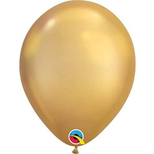 "Balloons 11"" - Chrome Gold"