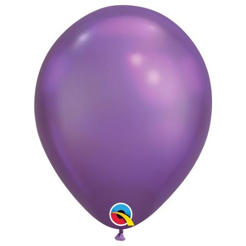 Baloni 28 cm - Chrome Vijolična