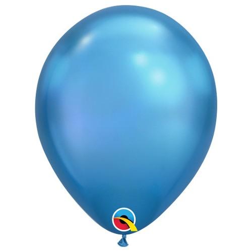 "Balloons 11"" - Chrome Blue"