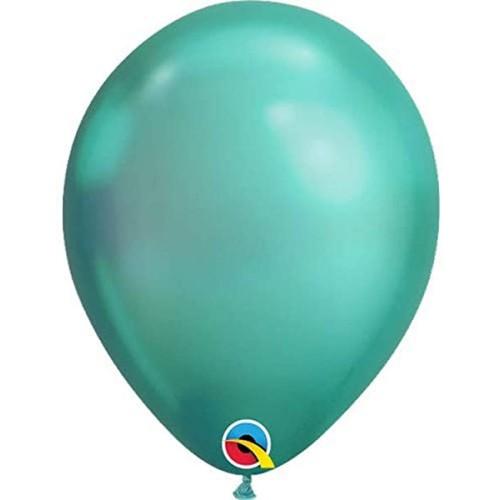 "Balloons 11"" - Chrome Green"