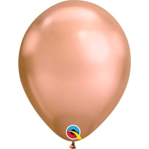 Baloni 28 cm - Chrome Rose Gold