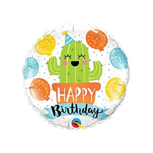 Rojstnodnevni kaktus - folija balon