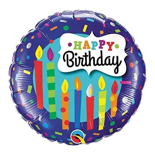 Sveče za vse najboljše - folija balon