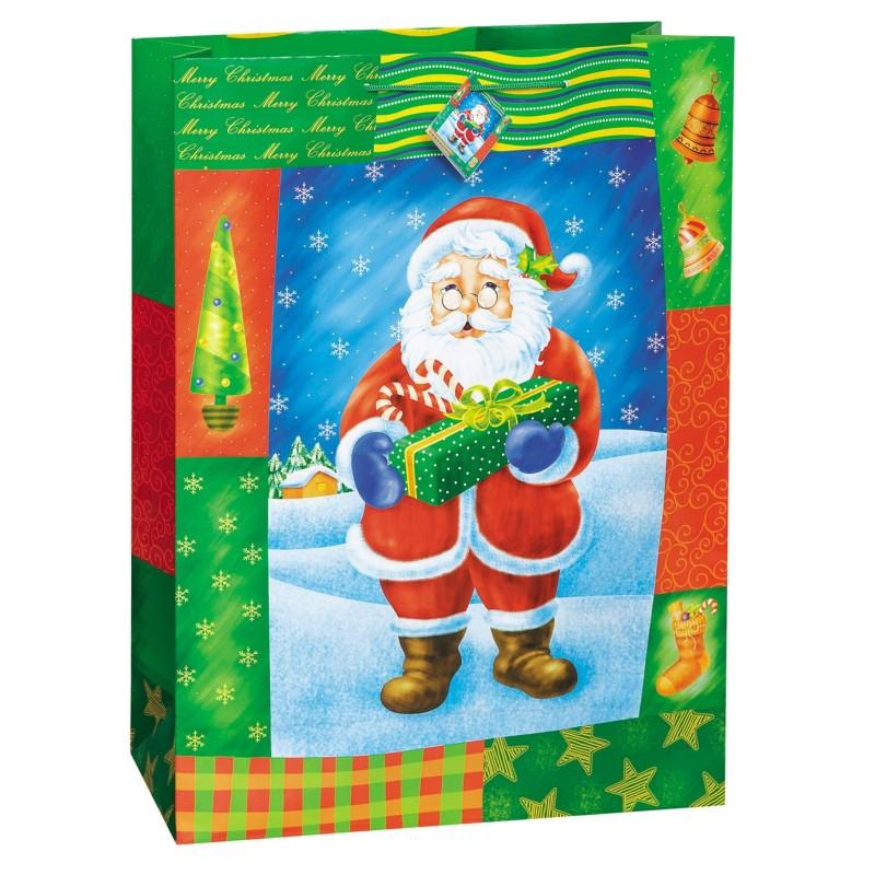Festive Holiday vrečka-Božična darila