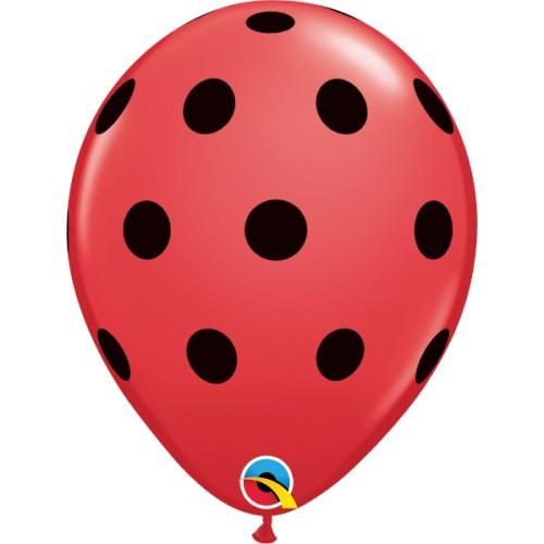 Latex Balloon - Big Polka Dots