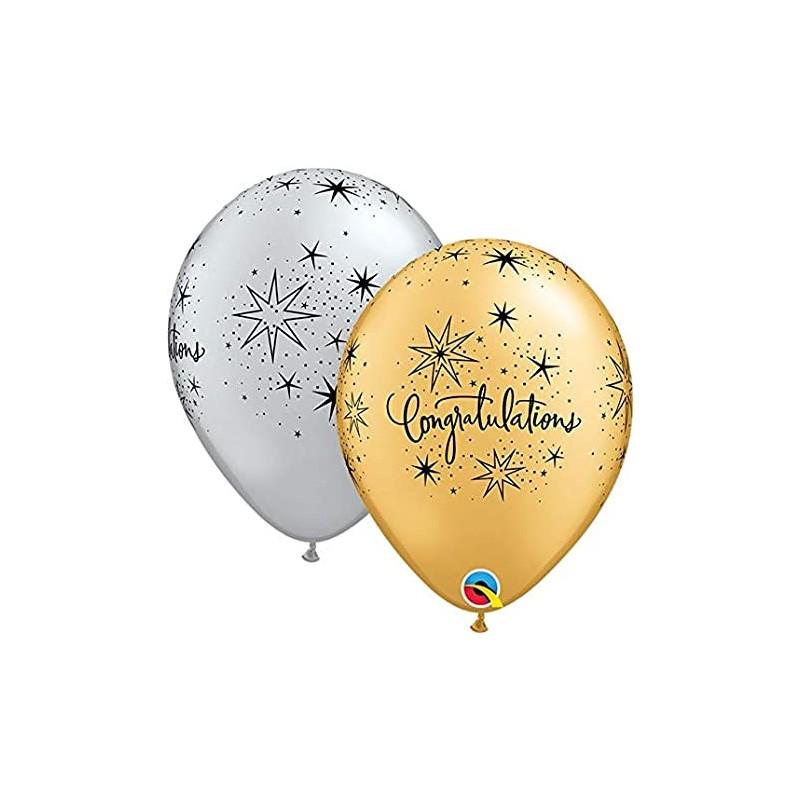Congratulations - latex balloons