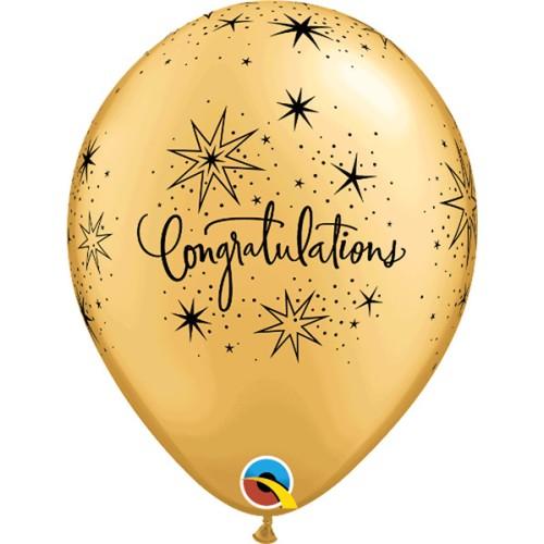 Congratulations - latex baloni
