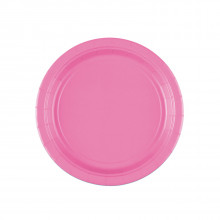 """Pink party - Plates 7"""""""