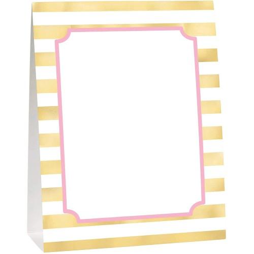 Buffet-Dekorationsset - Erster Geburtstag rosa Party