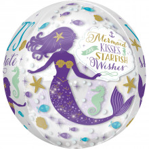 Mermaid - foil balloon