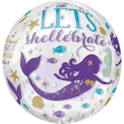 Mermaid - Folienballon