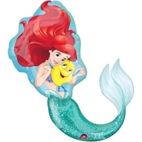 Morska deklica - folija balon