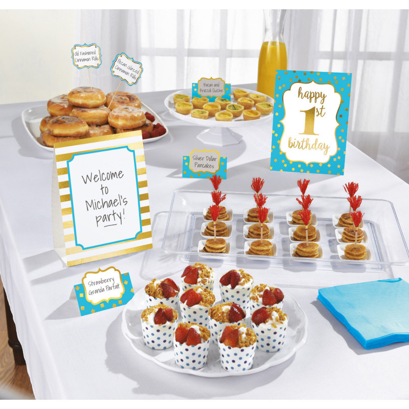 Buffet decoration set - First birthday party