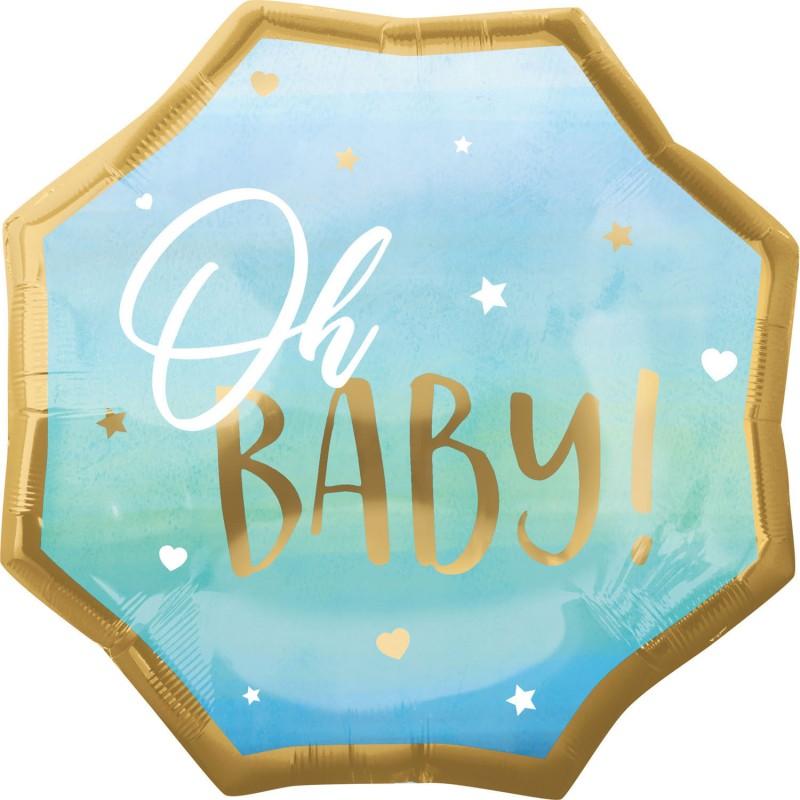 Oh Baby Boy - foil balloon