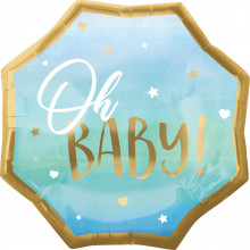 Oh Baby Boy - Folienballon