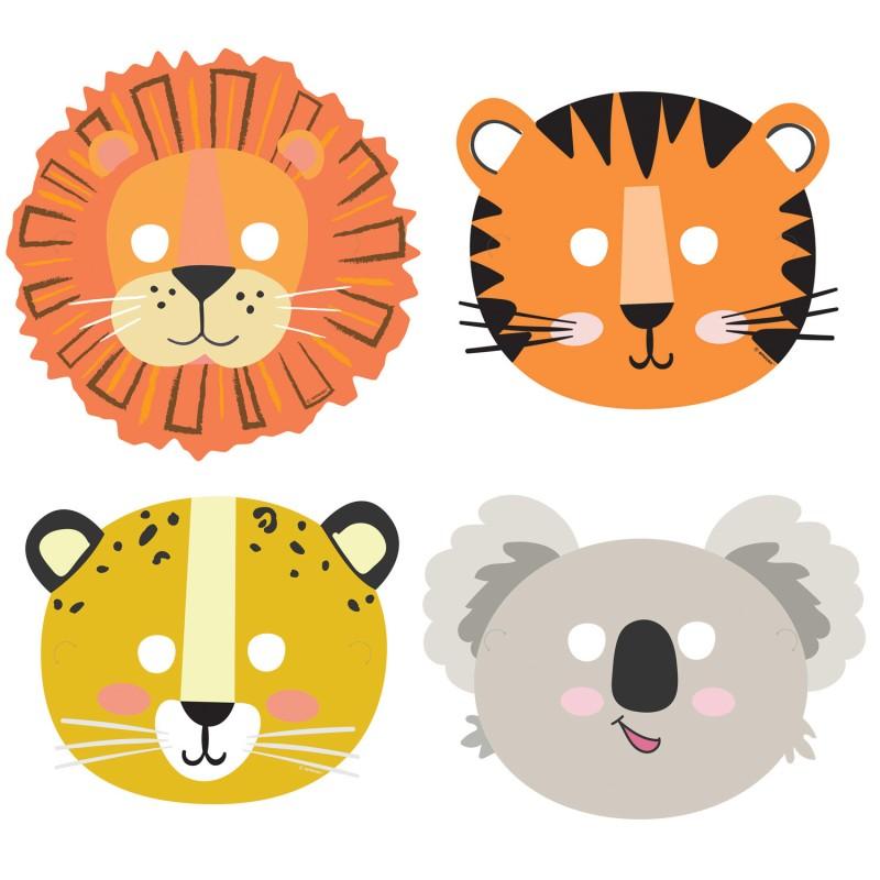 Otroške maske - divje živali