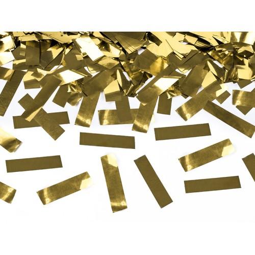 Konfeti strelec - 60 cm zlate barve