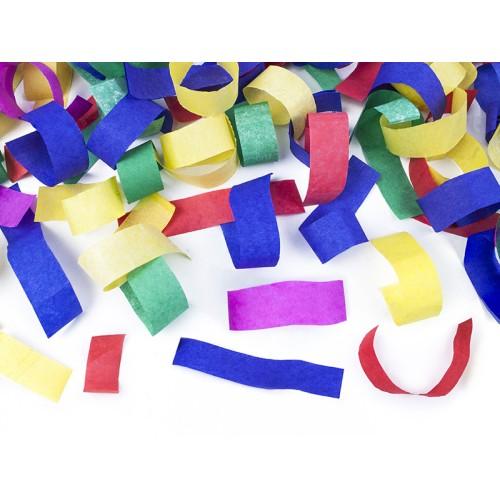 Mix color confetti shooter 20 cm