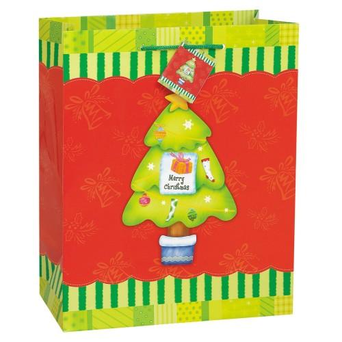 Jolly Holiday gift bag -Snowman