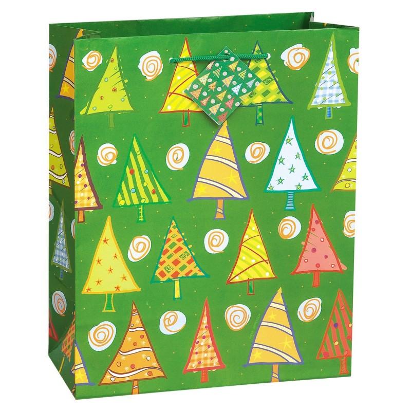 O Christmas Tree-vrečka-rdeča