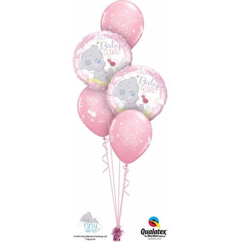 Me to You Tiny Tatty Teddy Baby Girl - folija balon