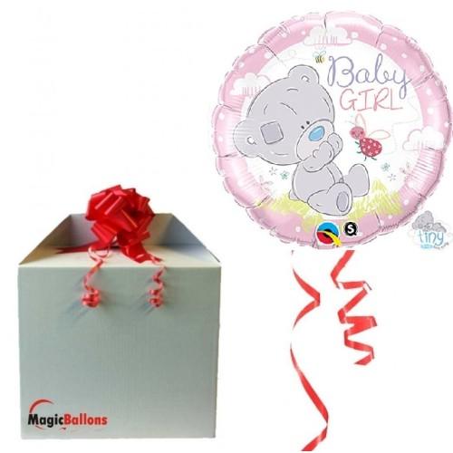 Me to You Tiny Tatty Teddy Baby Girl - foil balloon