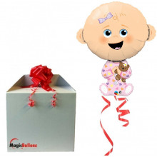 Baby Girl - foil balloon